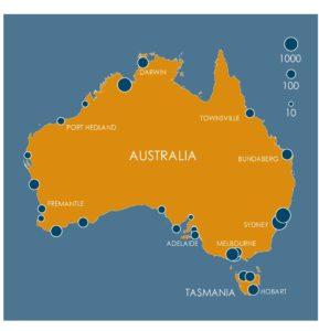Sea level rise Oz